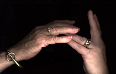 our hands
